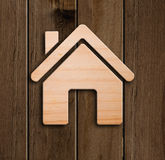 Small wooden house. Stock Photography