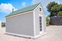 Small wooden house Stock Images