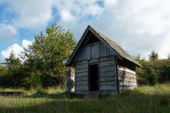 Small wooden play house Royalty Free Stock Photography
