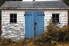 Small Wooden Shack royalty free stock image