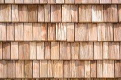 Small wooden shingles Stock Photo