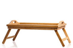 Small wooden table Royalty Free Stock Photography