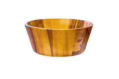 Small wooden tub. Royalty Free Stock Photography