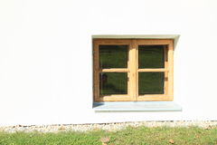 Small wooden window Royalty Free Stock Photo