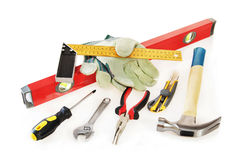 Small working tools Royalty Free Stock Image