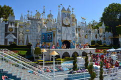 Small World. Disneyland's It's a Small World attraction Royalty Free Stock Photo