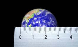Small world. Planet earth Stock Photography