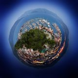 Small world of the city. Royalty Free Stock Photo