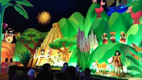 Small World Disneyland Paris 2015 royalty free stock image