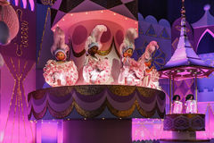 It is the small world. Dolls dancing on the stage at Disneyland Paris Stock Photography
