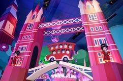 Small world. France. Paris. Circa June  2013 Disneys Its a small world attraction in Paris Disneyland Royalty Free Stock Photo