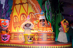 Small world. France. Paris. Circa June  2013 Disneys Its a small world attraction in Paris Disneyland Stock Images
