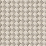 Small woven white cane fiber seamless pattern Stock Photography