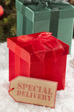 Small Wrapped Christmas Presents Stock Photos
