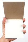 Small writing pad Stock Photos