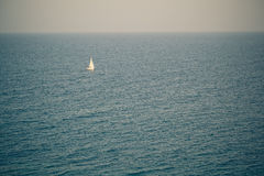 Small yacht Stock Photography