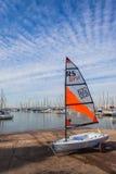 Small Yacht Sailing Training Academy  Stock Image