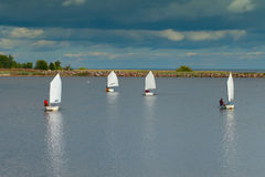 Small yachts. Stock Photography