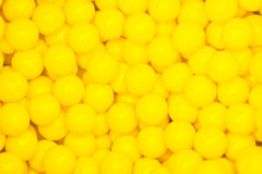 Small yellow balls Royalty Free Stock Photos