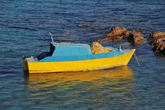 Fishing boat, Greece Royalty Free Stock Photography