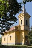 Small yellow church Stock Photography