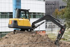 Earth mover royalty free stock photography