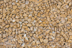 Small yellow stones background Royalty Free Stock Photo
