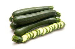 Small zucchini Stock Photo