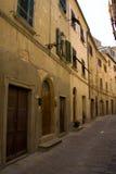 Smalle Europese straat royalty-vrije stock foto