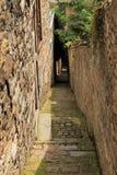 Smalle straat Royalty-vrije Stock Foto's