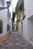 Marbella straat Stock Afbeeldingen