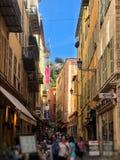 Smalle straten - hoeveel zij kunnen behandelen royalty-vrije stock afbeeldingen