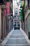 Smalle straten van Reus, Spanje Royalty-vrije Stock Afbeelding