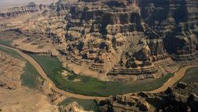Smalle tegel van Colorado rivier Royalty-vrije Stock Afbeeldingen