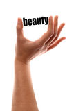 Smaller beauty Stock Image