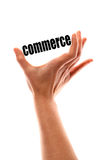 Smaller commerce concept Royalty Free Stock Image