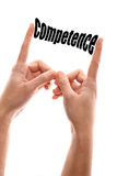 Smaller competence Royalty Free Stock Photos