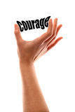 Smaller courage concept Royalty Free Stock Images