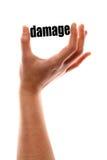 Smaller damage Stock Photo