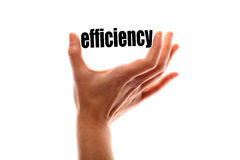 Smaller efficiency concept Royalty Free Stock Photo