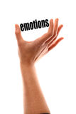 Smaller emotions concept Royalty Free Stock Images