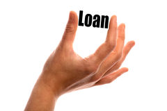 Smaller loan Royalty Free Stock Photography