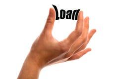 Smaller loan Royalty Free Stock Photo