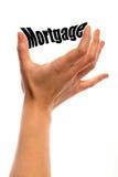 Smaller mortgage Stock Photo