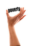 Smaller poverty concept Royalty Free Stock Photo