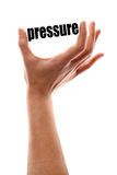 Smaller pressure Royalty Free Stock Photo