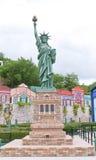 A smaller replica of Statue of Liberty in Ramoji Film City, Bangalore. Stock Photo