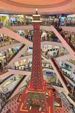 A smaller replicate of the Eifel Tower. Terminal 21 Pattaya royalty free stock images