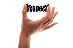 Smaller respect Royalty Free Stock Images