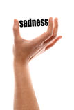 Smaller sadness Stock Photography